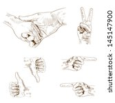 adult,care,child,childhood,connection,daughter,direction,drawing,engraving,family,father,finger,fist,friendship,gesture