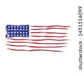 american flag logo design with...   Shutterstock .eps vector #1451516099