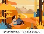 vector illustration in flat... | Shutterstock .eps vector #1451519573