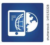 global communication  global... | Shutterstock .eps vector #145152328