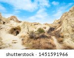 goreme national park and house... | Shutterstock . vector #1451591966