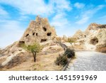 goreme national park and house... | Shutterstock . vector #1451591969