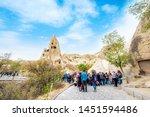 cappadocia  nevsehir  turkey ... | Shutterstock . vector #1451594486