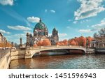 Berlin Cathedral With A Bridge...