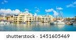 panoramic view of puerto marina ... | Shutterstock . vector #1451605469