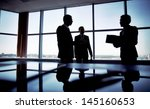 shady image of a manager... | Shutterstock . vector #145160653