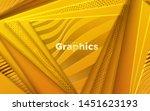 elegant cover design. minimal... | Shutterstock .eps vector #1451623193