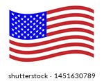 american flag for independence... | Shutterstock .eps vector #1451630789
