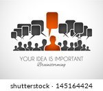 worldwide communication and... | Shutterstock .eps vector #145164424