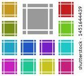 margin  text multi color icon....