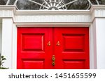 house number 44 with the forty... | Shutterstock . vector #1451655599
