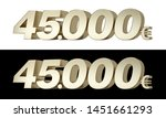 45.000  forty five thousand... | Shutterstock . vector #1451661293
