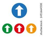 up arrow icon. vector...