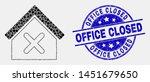 dot closed house mosaic... | Shutterstock .eps vector #1451679650