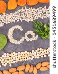 inscription ca with healthy... | Shutterstock . vector #1451689499