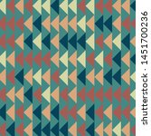 abstract geometric pattern with ... | Shutterstock .eps vector #1451700236