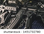 military equipman and weapons...   Shutterstock . vector #1451732780