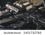 military equipman and weapons...   Shutterstock . vector #1451732783