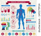 medical infographic elements... | Shutterstock .eps vector #145175914
