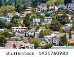 aerial view of residential... | Shutterstock . vector #1451760983