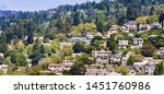 aerial view of residential... | Shutterstock . vector #1451760986