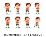 kid child expression vector... | Shutterstock .eps vector #1451766929
