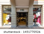 serravalle  italy 07.14.2019... | Shutterstock . vector #1451770526