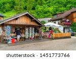 hallstatt  austria   july 08... | Shutterstock . vector #1451773766