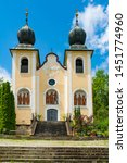 kalvarienberg church ... | Shutterstock . vector #1451774960