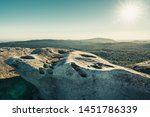 granite rock formations at bald ... | Shutterstock . vector #1451786339