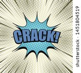 comic elegant concept with... | Shutterstock .eps vector #1451804519