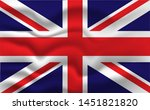national flag of great britain...   Shutterstock .eps vector #1451821820