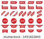 new label and tag. sticker with ... | Shutterstock .eps vector #1451822843