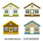 house | Shutterstock .eps vector #145182820