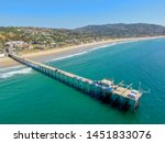 aerial view of the scripps pier ... | Shutterstock . vector #1451833076