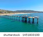 aerial view of the scripps pier ... | Shutterstock . vector #1451833100