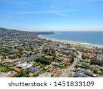 Aerial View Of La Jolla...