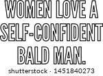 women love a self confident... | Shutterstock .eps vector #1451840273