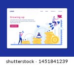 vector illustration inscription ... | Shutterstock .eps vector #1451841239