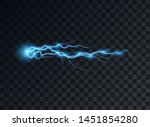 electric blue discharge  flash  ... | Shutterstock .eps vector #1451854280