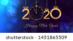 Happy New Year 2020 Abstract...