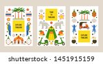 explore thailand set of posters ... | Shutterstock .eps vector #1451915159