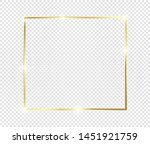 gold shiny glowing frame with...   Shutterstock .eps vector #1451921759