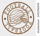 american football helmet. sport ... | Shutterstock .eps vector #1451936549