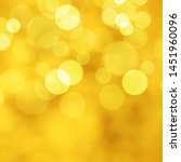 gold background with bokeh... | Shutterstock .eps vector #1451960096