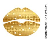 vector illustration of gold... | Shutterstock .eps vector #145196824