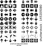 set of arrow icon   eps10... | Shutterstock .eps vector #145205080
