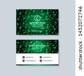 creative modern green business... | Shutterstock .eps vector #1452072746