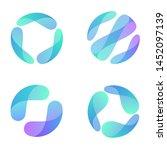 vector logo design template for ... | Shutterstock .eps vector #1452097139