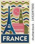 Travel To France Poster Design  ...